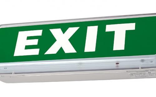 exit világítás