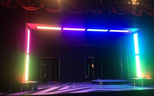 RGB LED Panel 120x30