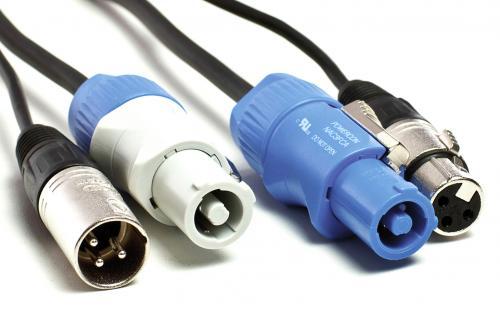 Powercon kombi kábel 20 méter