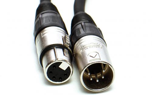 xlr 5pol kábel